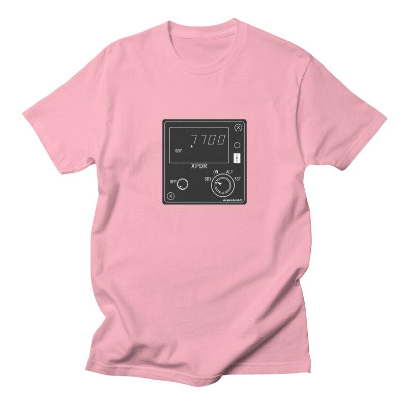 Squawk 7700 Emergency Men's T-Shirt by avgeekchic's Artist Shop