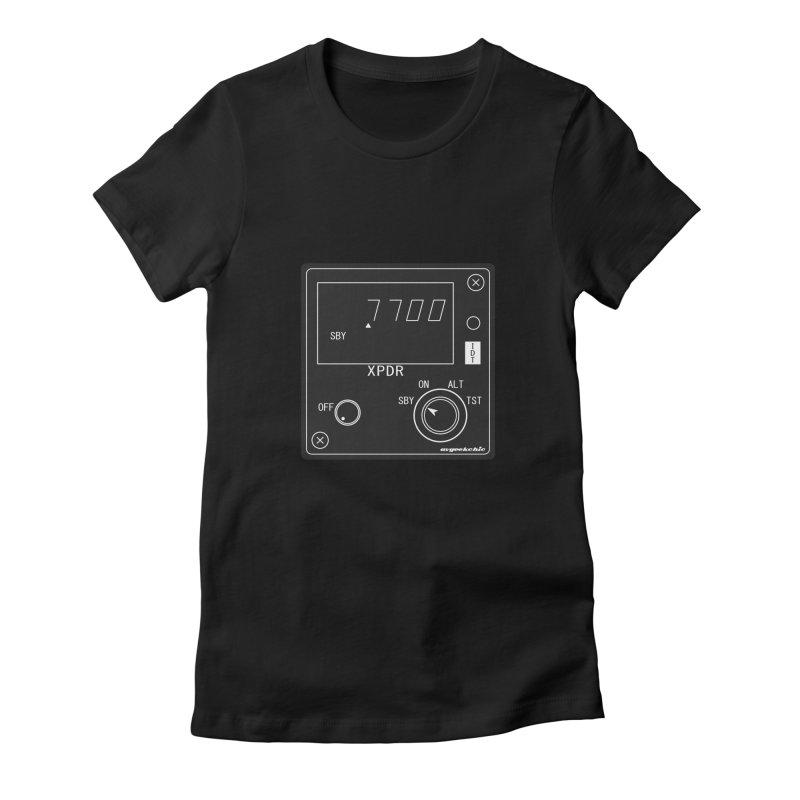 Squawk 7700 Emergency Women's T-Shirt by avgeekchic's Artist Shop