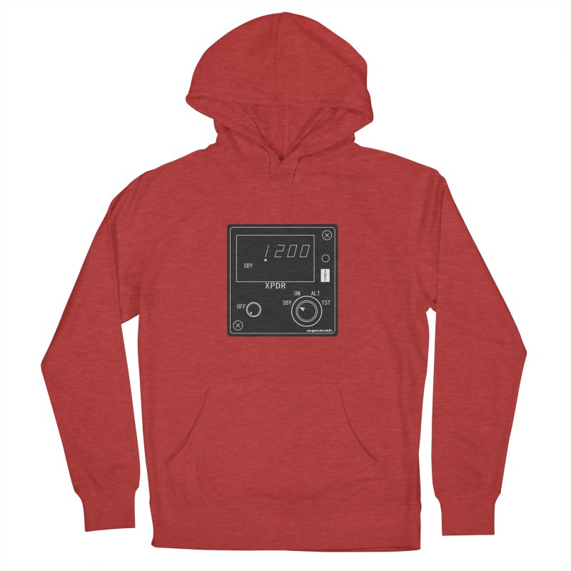 Squawk 1200 Men's French Terry Pullover Hoody by avgeekchic's Artist Shop