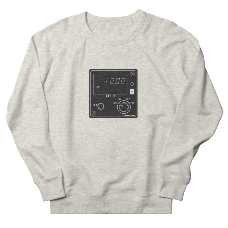 Squawk 1200 Men's French Terry Sweatshirt by avgeekchic's Artist Shop