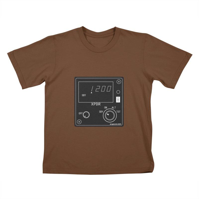 Squawk 1200 Kids T-Shirt by avgeekchic's Artist Shop