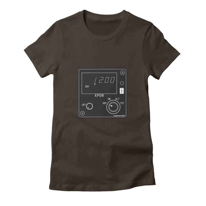 Squawk 1200 Women's Fitted T-Shirt by avgeekchic's Artist Shop