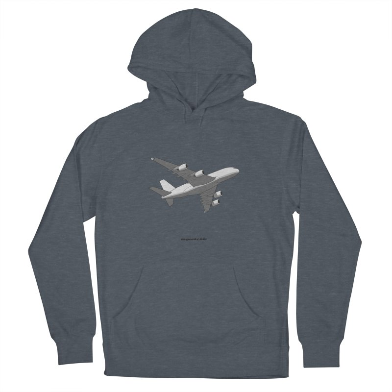 Airbus A380 Women's French Terry Pullover Hoody by avgeekchic's Artist Shop