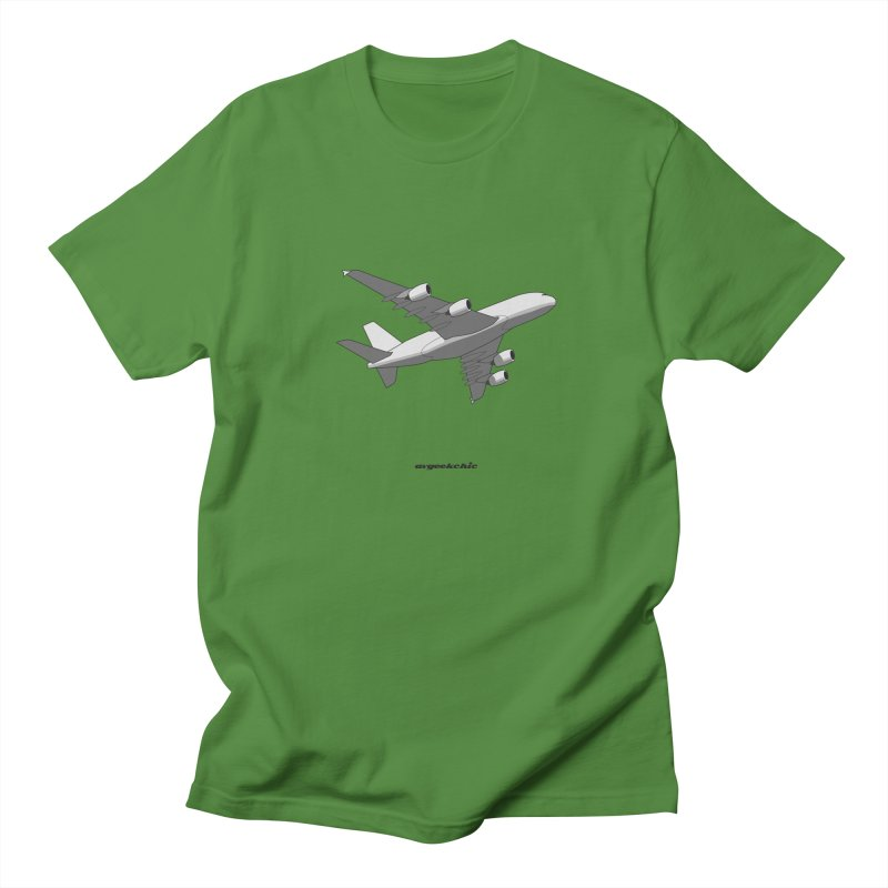 Airbus A380 Men's Regular T-Shirt by avgeekchic's Artist Shop