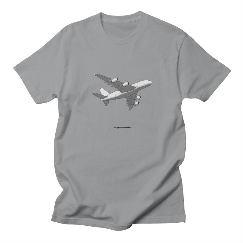Airbus A380 Men's T-Shirt by avgeekchic's Artist Shop