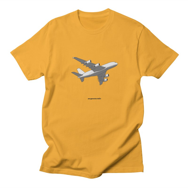Airbus A380 Men's T-Shirt by avgeekchic's Artist Shop