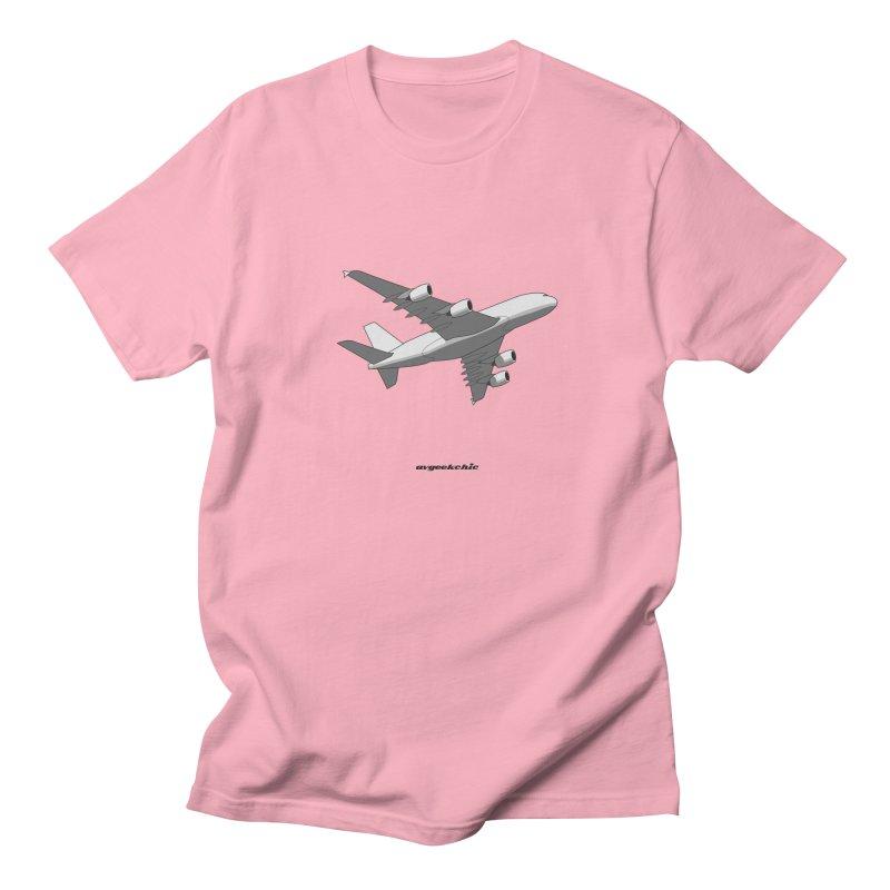 Airbus A380 Men's Regular T-Shirt by avgeekchic's Artist Shop