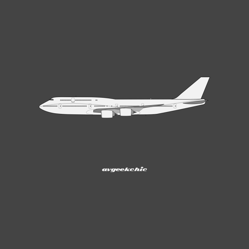 Boeing 747-8i Kids T-Shirt by avgeekchic's Artist Shop