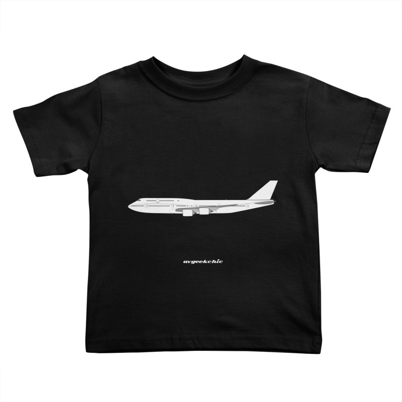 Boeing 747-8i Kids Toddler T-Shirt by avgeekchic's Artist Shop