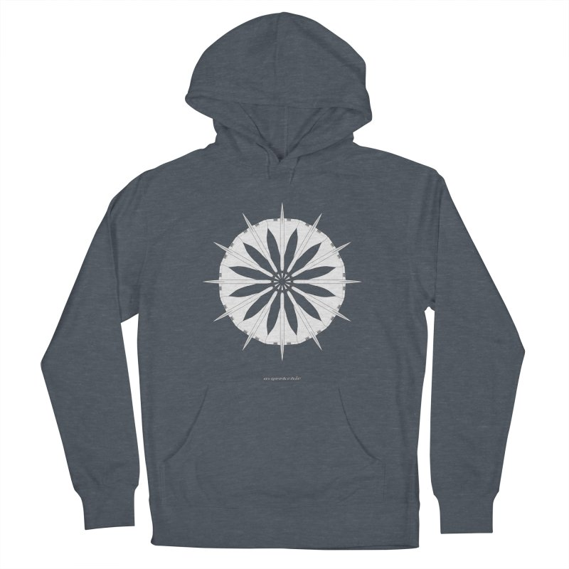 Concorde Mandala Men's French Terry Pullover Hoody by avgeekchic's Artist Shop