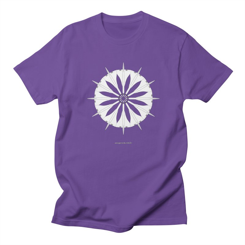 Concorde Mandala Men's T-Shirt by avgeekchic's Artist Shop