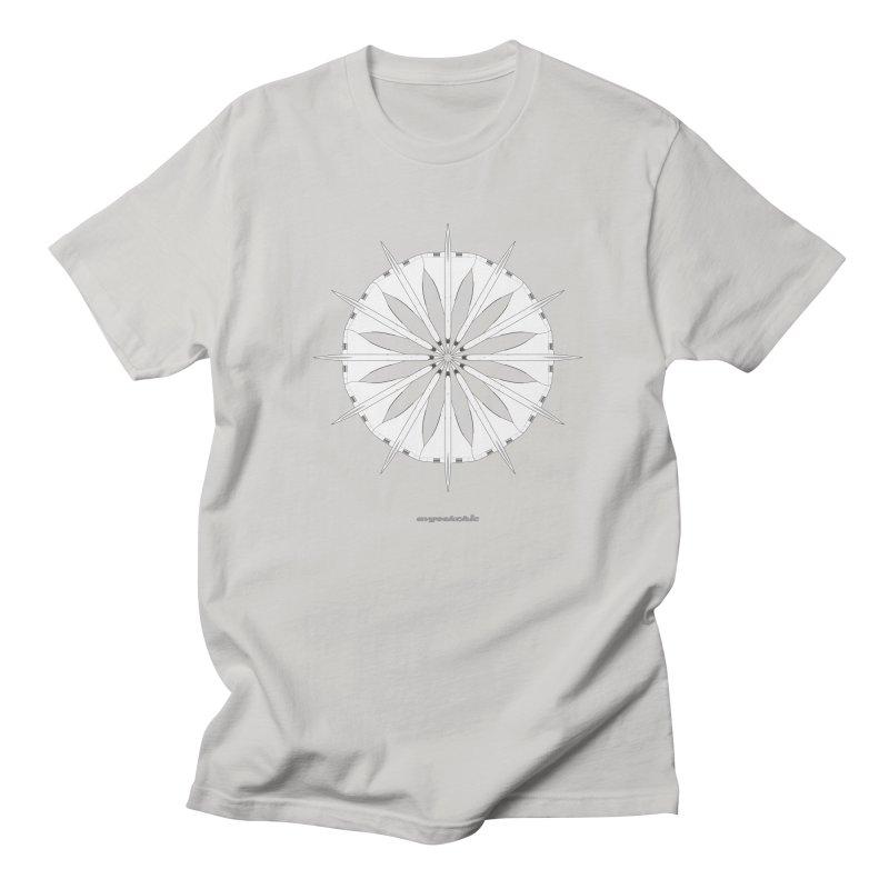 Concorde Mandala Men's Regular T-Shirt by avgeekchic's Artist Shop