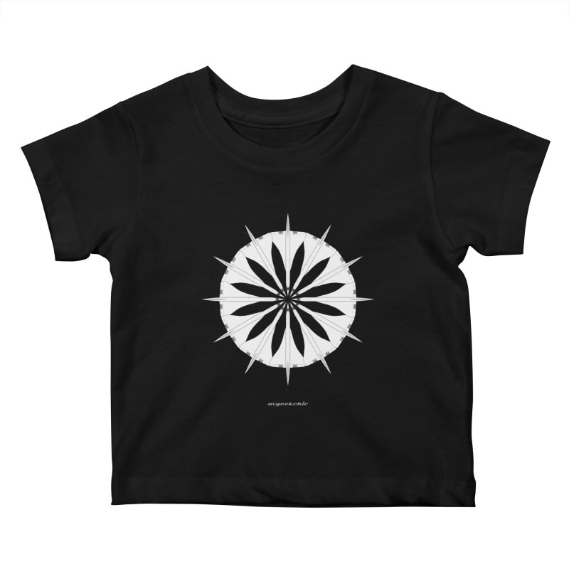 Concorde Mandala Kids Baby T-Shirt by avgeekchic's Artist Shop