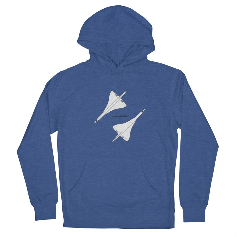 Concorde Double Men's French Terry Pullover Hoody by avgeekchic's Artist Shop