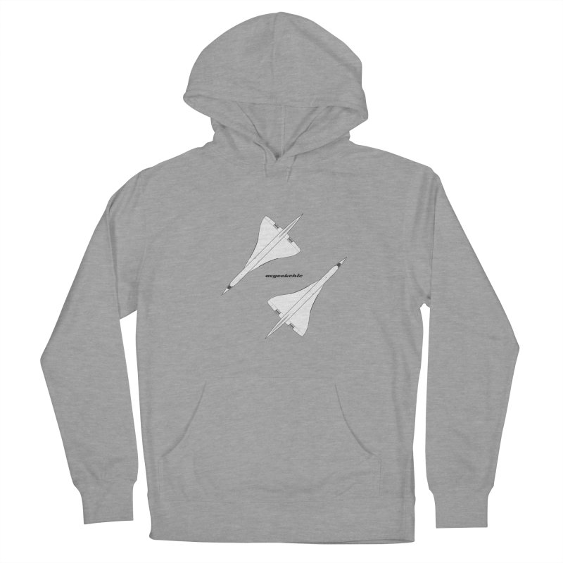 Concorde Double Men's Pullover Hoody by avgeekchic's Artist Shop