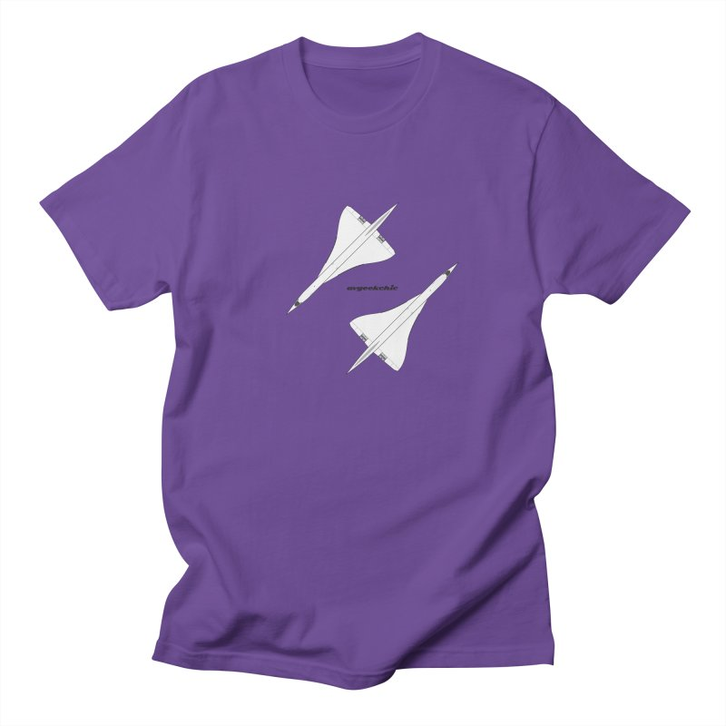 Concorde Double Men's T-Shirt by avgeekchic's Artist Shop