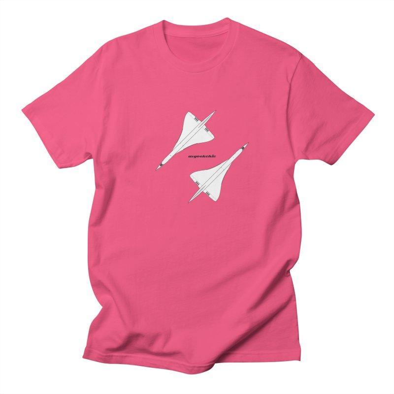 Concorde Double Men's T-Shirt by avgeekchic's Artist Shop