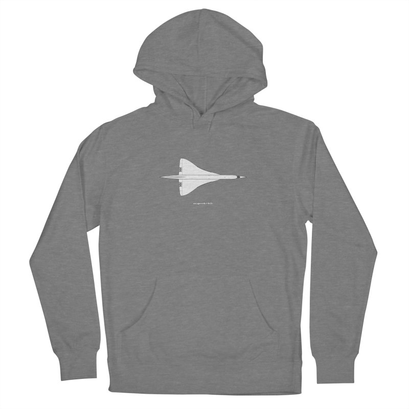 Concorde Men's French Terry Pullover Hoody by avgeekchic's Artist Shop