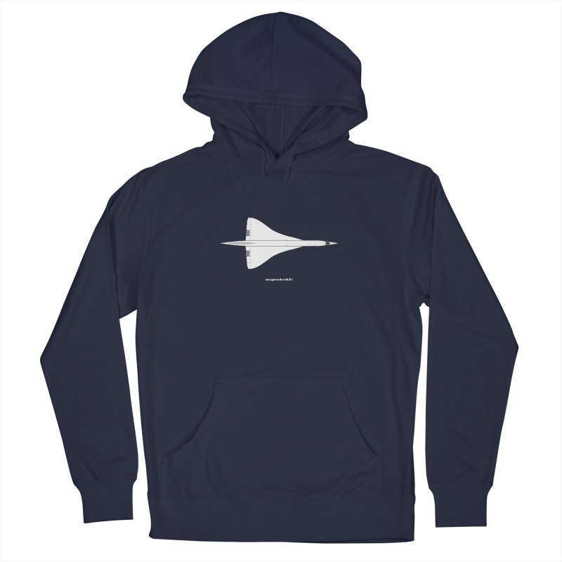Concorde Men's Pullover Hoody by avgeekchic's Artist Shop