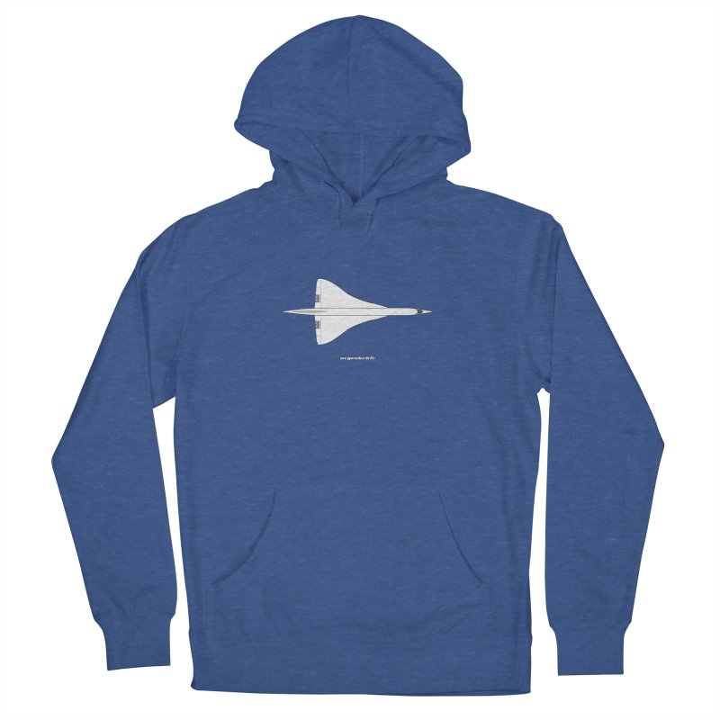 Concorde Women's French Terry Pullover Hoody by avgeekchic's Artist Shop