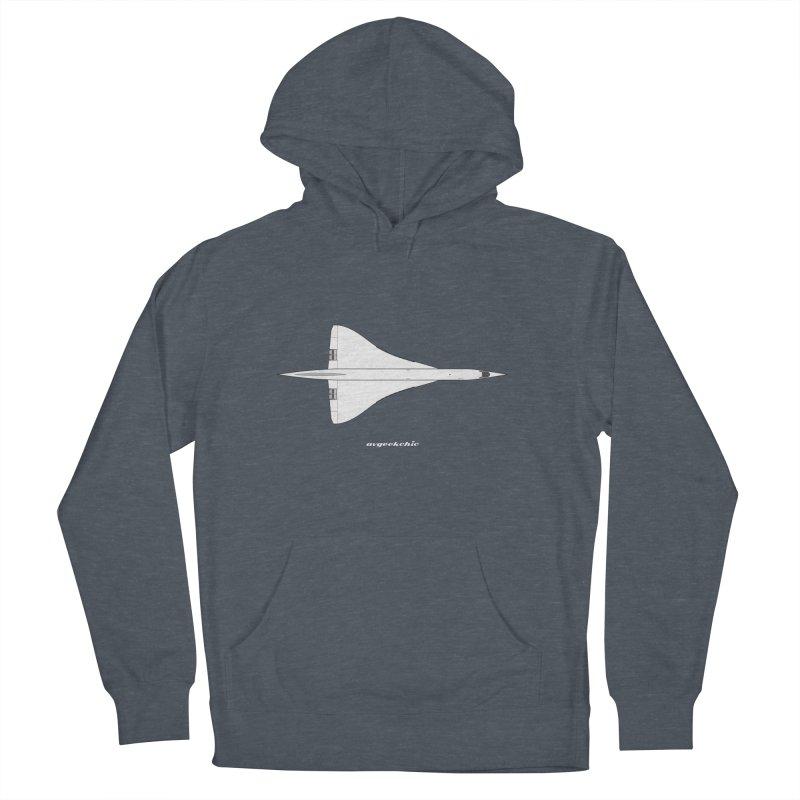 Concorde Men's Pullover Hoody by avgeekchic's Artist Shop