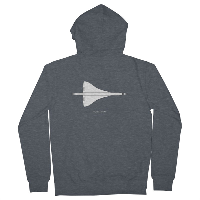 Concorde Men's French Terry Zip-Up Hoody by avgeekchic's Artist Shop