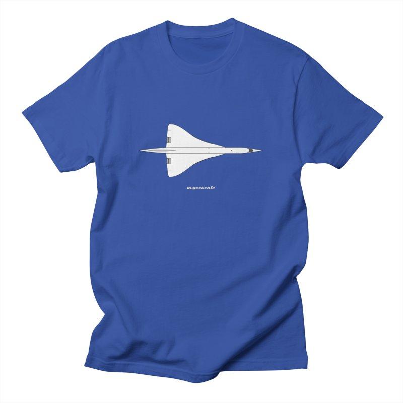 Concorde Men's Regular T-Shirt by avgeekchic's Artist Shop