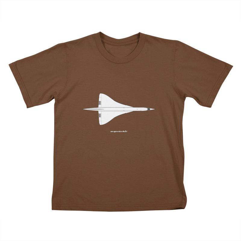 Concorde Kids T-Shirt by avgeekchic's Artist Shop
