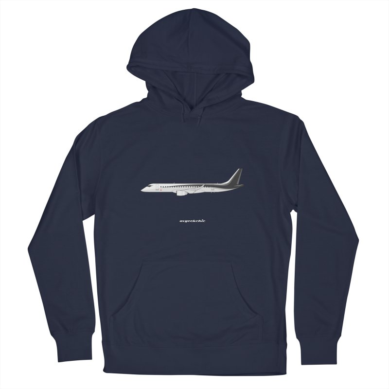 Mitsubishi Regional Jet Women's French Terry Pullover Hoody by avgeekchic's Artist Shop