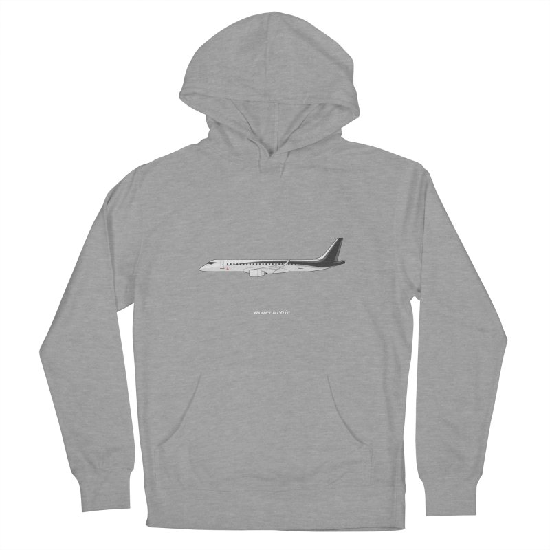 Mitsubishi Regional Jet Men's French Terry Pullover Hoody by avgeekchic's Artist Shop