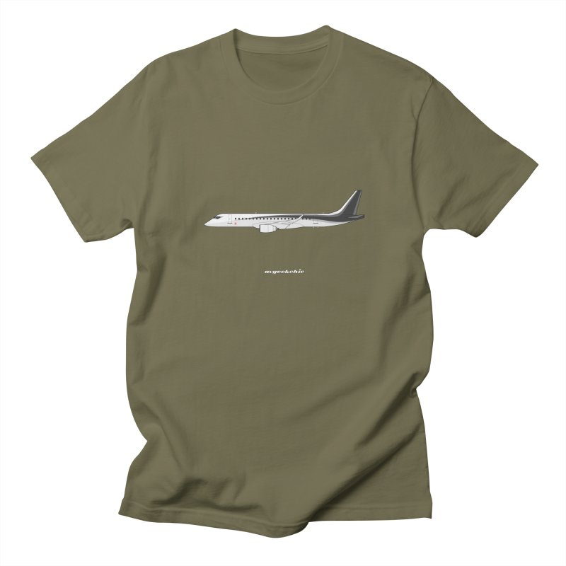 Mitsubishi Regional Jet Men's T-Shirt by avgeekchic's Artist Shop