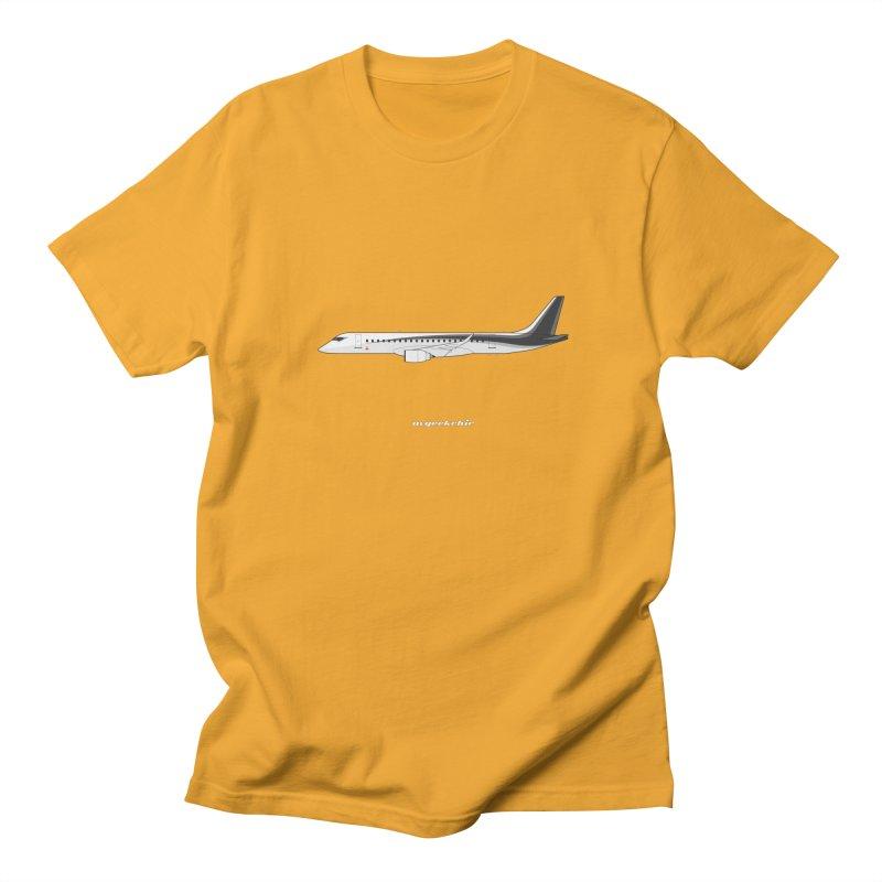 Mitsubishi Regional Jet Men's Regular T-Shirt by avgeekchic's Artist Shop