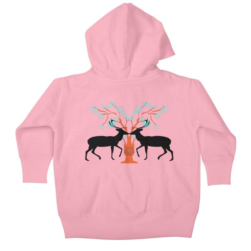 Dear Deer Kids Baby Zip-Up Hoody by avian30