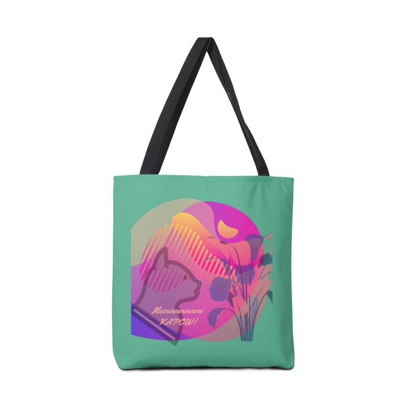 Meow Kapow Accessories Bag by avian30