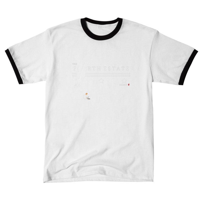 The Fourth Estate Men's T-Shirt by avian30