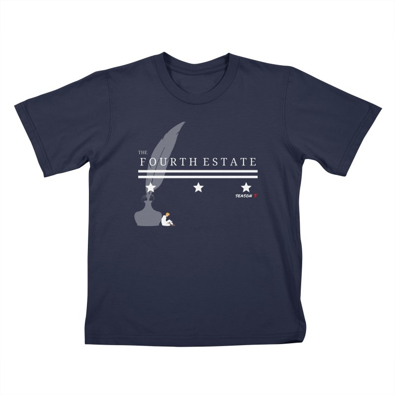 The Fourth Estate Kids T-Shirt by avian30