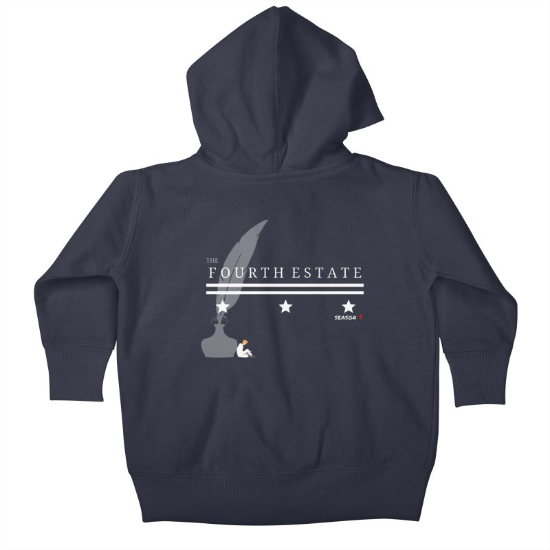 The Fourth Estate Kids Baby Zip-Up Hoody by avian30