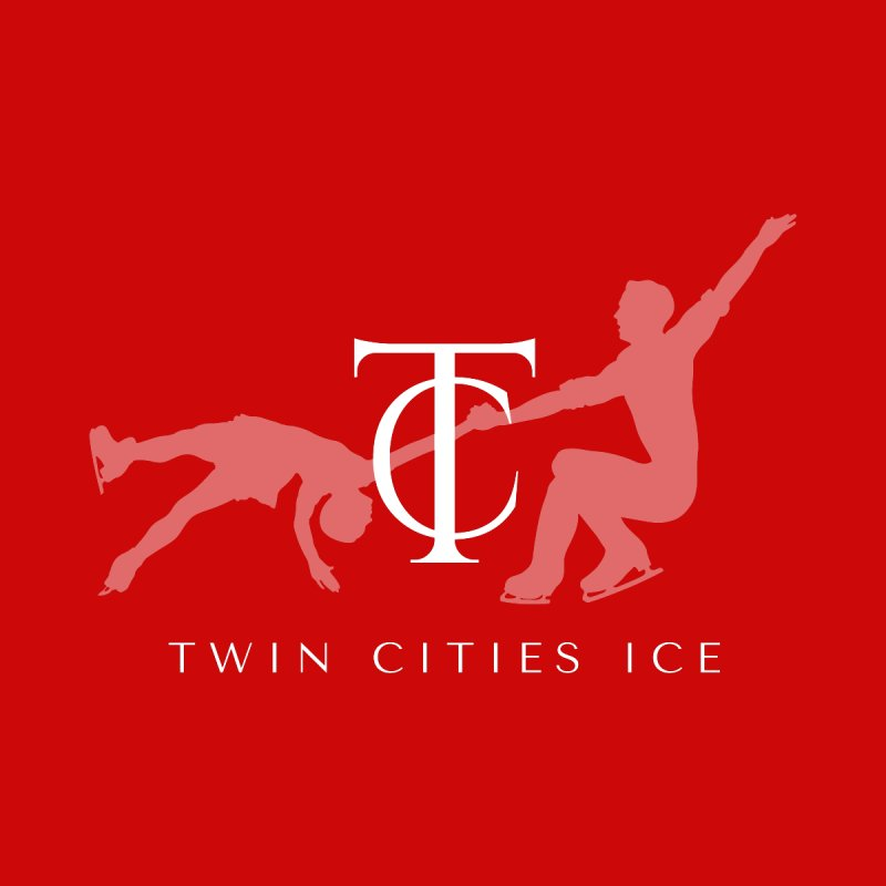 Twin Cities Ice - Pairs Men's T-Shirt by avian30