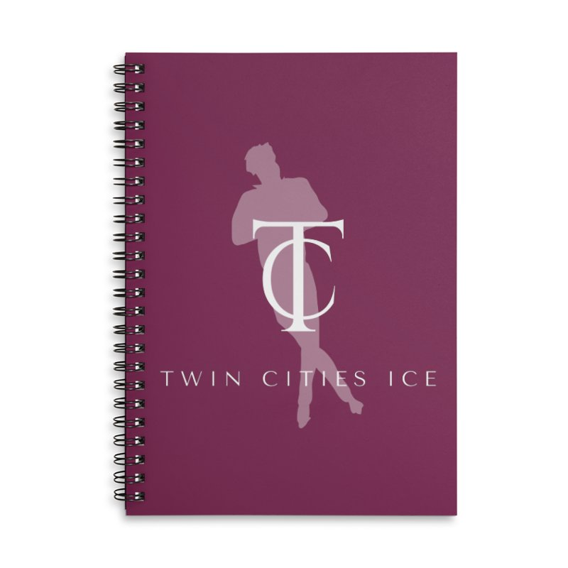 Twin Cities Ice - Singles Accessories Notebook by avian30