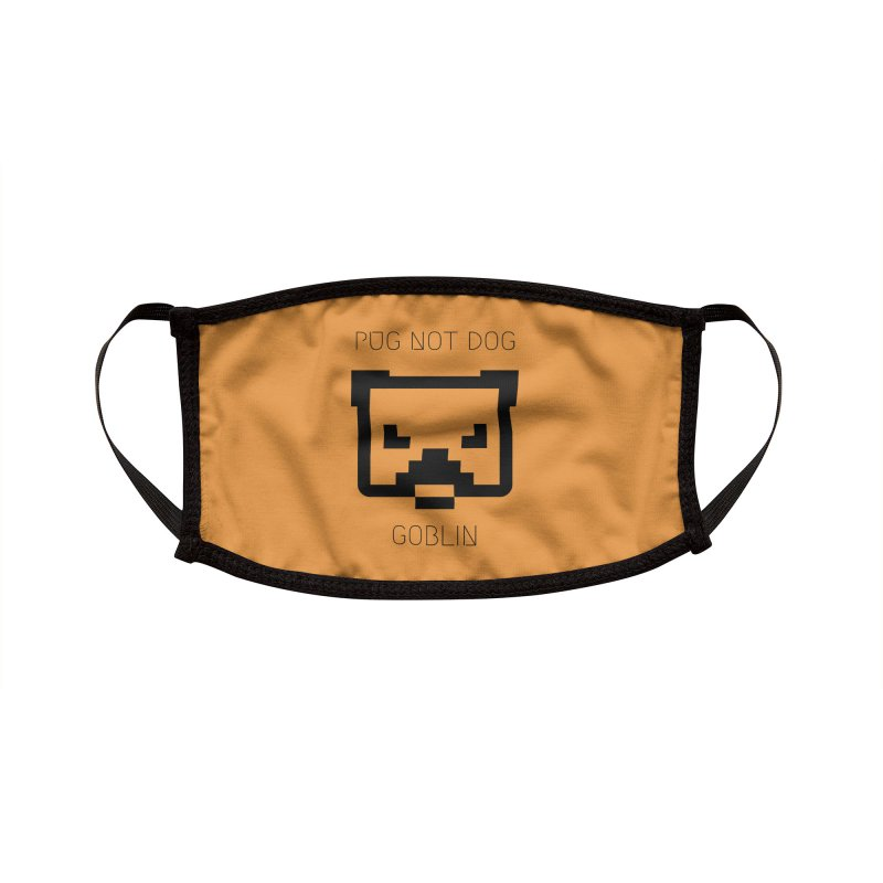 PUG NOT DOG Accessories Face Mask by avian30