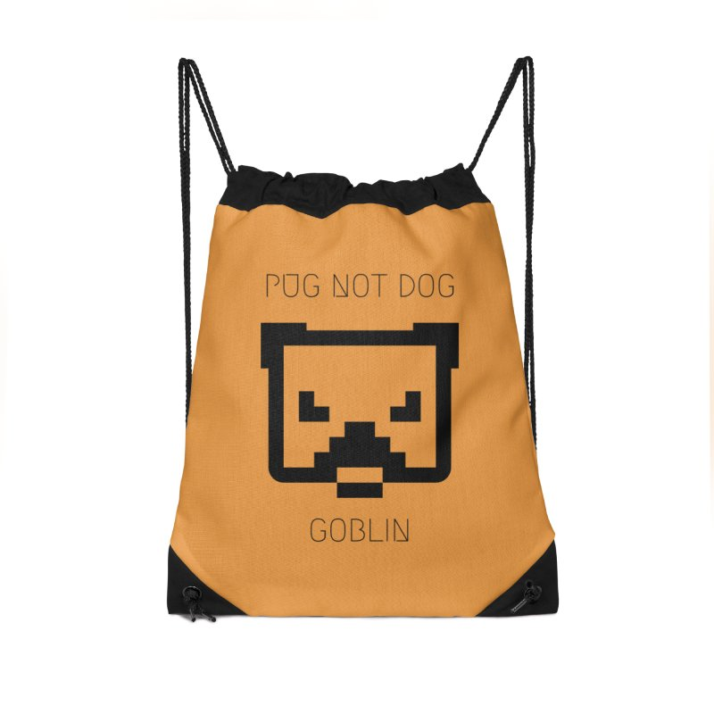 PUG NOT DOG Accessories Bag by avian30