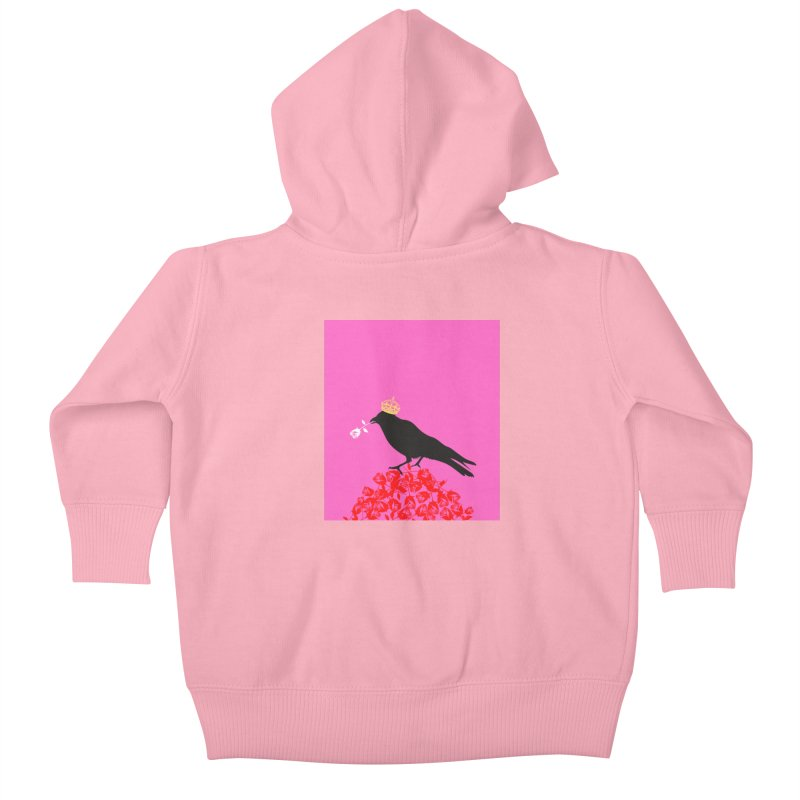 A Queen from the North Kids Baby Zip-Up Hoody by avian30