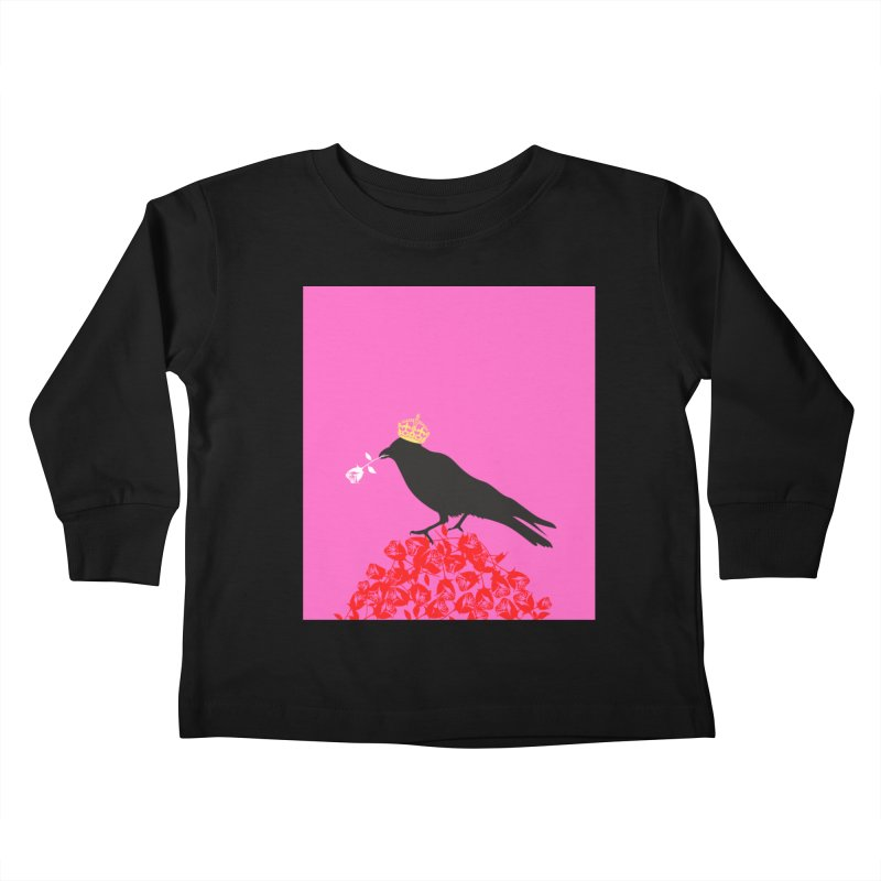 A Queen from the North Kids Toddler Longsleeve T-Shirt by avian30
