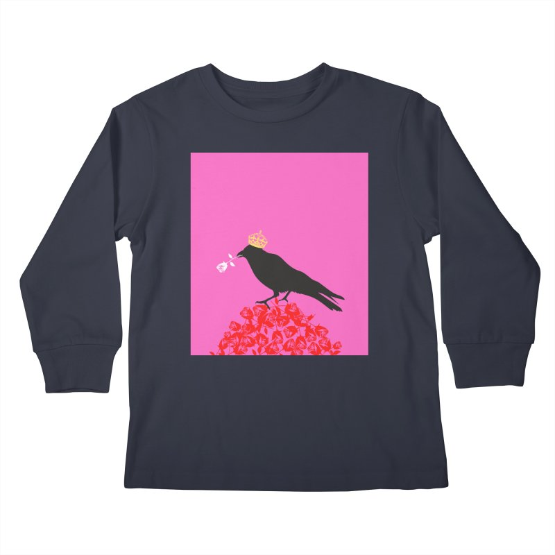 A Queen from the North Kids Longsleeve T-Shirt by avian30