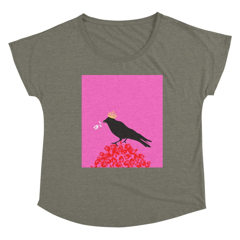A Queen from the North Women's Scoop Neck by avian30