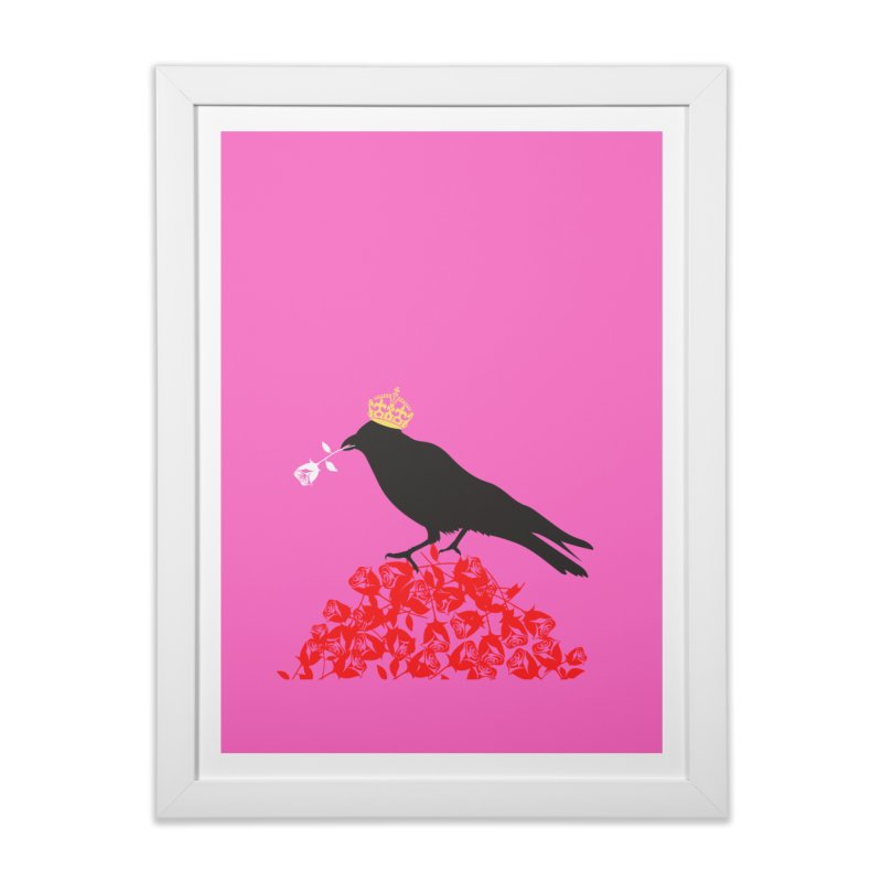 A Queen from the North Home Framed Fine Art Print by avian30