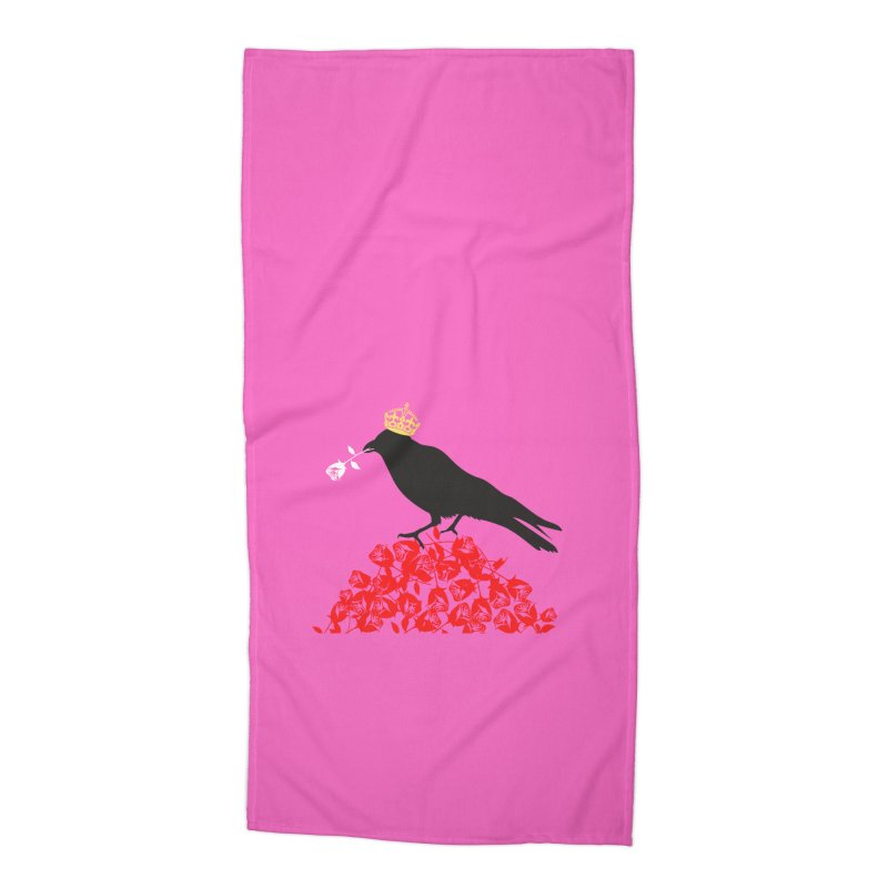 A Queen from the North Accessories Beach Towel by avian30