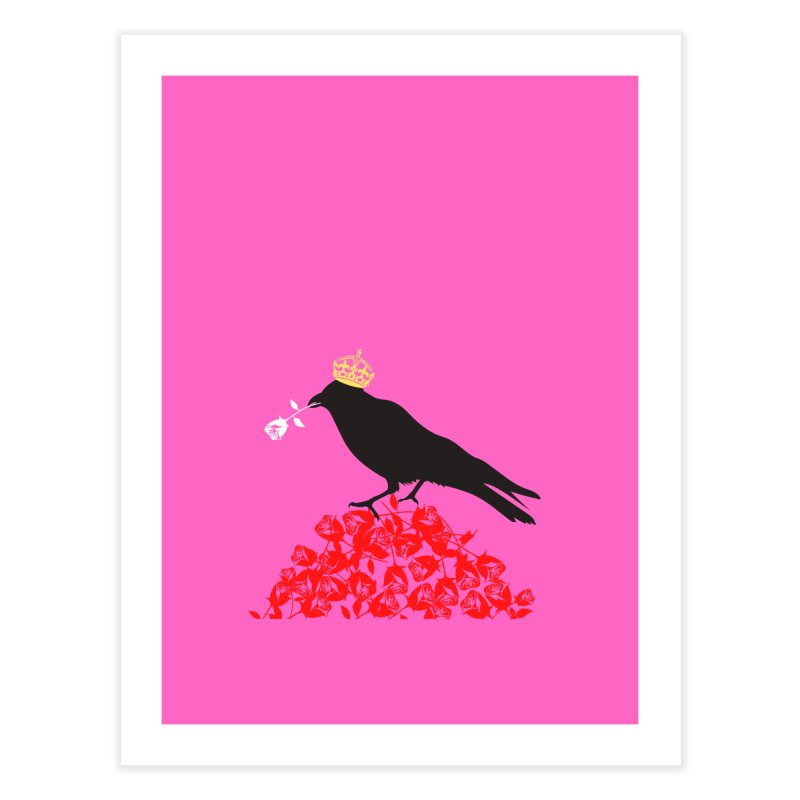 A Queen from the North Home Fine Art Print by avian30