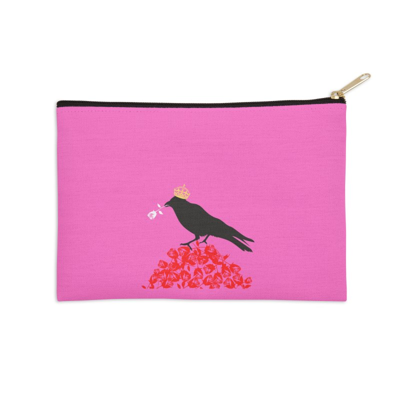 A Queen from the North Accessories Zip Pouch by avian30