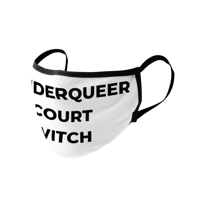 Genderqueer Court Witch Accessories Face Mask by avian30
